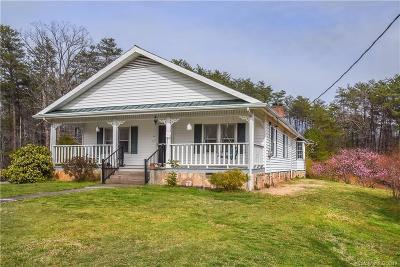 McDowell County Single Family Home Under Contract-Show: 1304 Souther Road