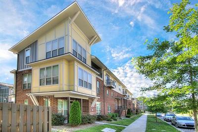 Charlotte Condo/Townhouse For Sale: 926 Steel House Boulevard