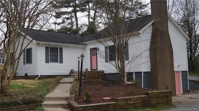 Shelby Single Family Home Under Contract-Show: 820 Parkwood Road