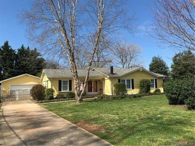 Mint Hill Single Family Home For Sale: 11330 Cresthill Drive