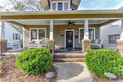 Dilworth Single Family Home For Sale: 604 E Tremont Avenue