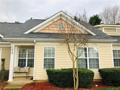 Charlotte, Davidson, Indian Trail, Matthews, Midland, Mint Hill, Catawba, Clover, Fort Mill, Indian Land, Lake Wylie, Rock Hill, Tega Cay, York Condo/Townhouse For Sale: 1476 Harpers Inlet Drive