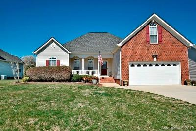 Rock Hill Single Family Home For Sale: 1321 Plantation Hills Drive