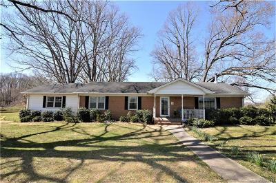 Monroe Single Family Home Under Contract-Show: 1424 Clarence Secrest Road