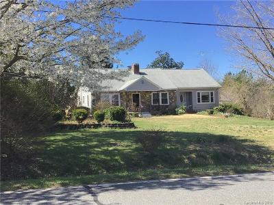 Rutherfordton NC Single Family Home For Sale: $139,900