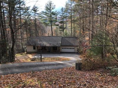 Transylvania County Single Family Home For Sale: 75 Wildwood Way