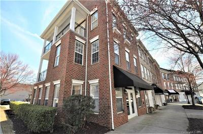 Mooresville Condo/Townhouse For Sale: 137 Market Place Avenue