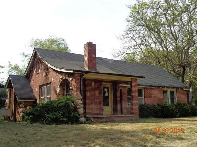 Single Family Home For Auction: 7661 Shuford Road