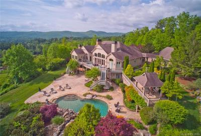 Hendersonville NC Single Family Home For Sale: $2,350,000