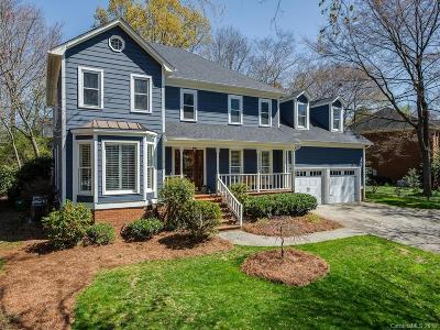 Charlotte Single Family Home Under Contract-Show: 9317 Hanover South Trail