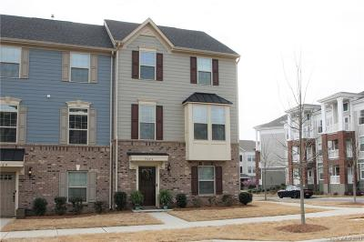Charlotte NC Condo/Townhouse For Sale: $295,000