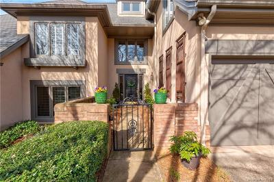 Charlotte Condo/Townhouse For Sale: 5737 Ballinard Lane