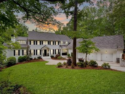 Charlotte Single Family Home For Sale: 4842 Carmel Club Drive