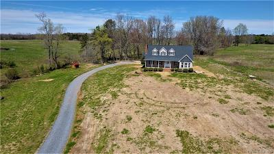 Cherryville Single Family Home For Sale: 7290 Hull Road