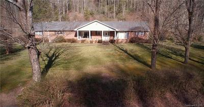 Madison County Single Family Home For Sale: 7530 Nc 208 Highway