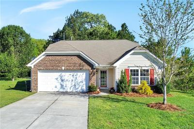 Rock Hill SC Single Family Home For Sale: $215,000