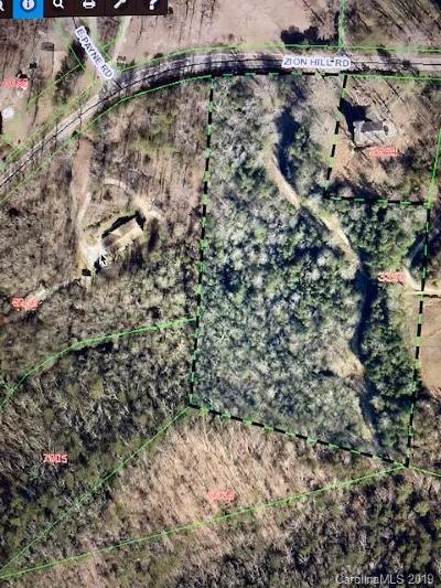 Residential Lots & Land For Sale: Zion Road