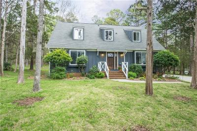 Charlotte Single Family Home Under Contract-Show: 7900 Deep Hollow Court