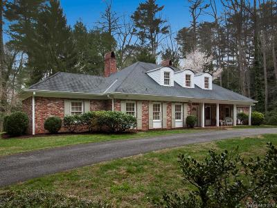 Asheville Single Family Home For Sale: 27 Park Road
