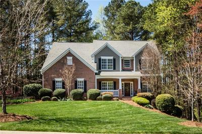 Charlotte Single Family Home Under Contract-Show: 12023 Overlook Mountain Drive