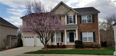 Charlotte Single Family Home For Sale: 10131 Montrose Drive NW