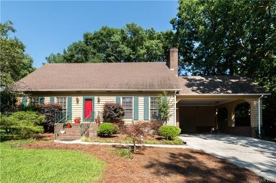 Charlotte Single Family Home For Sale: 5924 Chapel Creek Court