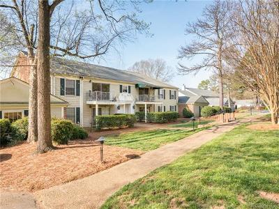 Charlotte Condo/Townhouse For Sale: 7037 Quail Hill Road