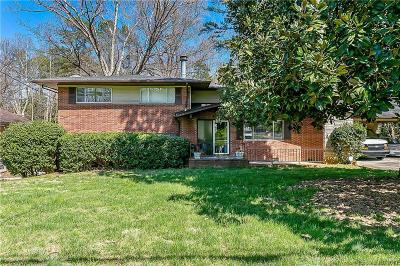 Charlotte Single Family Home Under Contract-Show: 6527 Burlwood Road