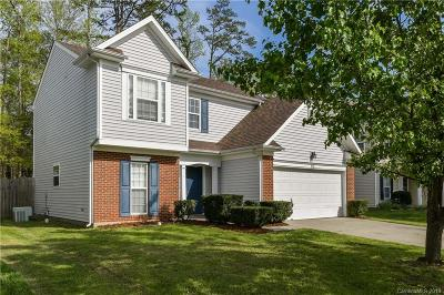 Charlotte Single Family Home Under Contract-Show: 8736 Firestreak Drive