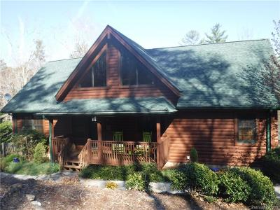 Bat Cave, Black Mountain, Chimney Rock, Lake Lure, Rutherfordton, Mill Spring, Columbus, Tryon, Saluda Single Family Home Under Contract-Show: 454 South Pointe Road