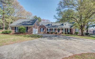 Gastonia Single Family Home For Sale: 1218 Heatherloch Drive