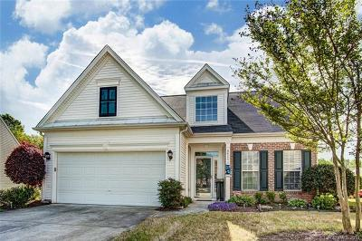Charlotte Single Family Home For Sale: 8614 Robinson Meadow Court