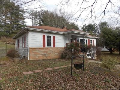 Asheville Single Family Home Under Contract-Show: 165 Old County Home Road