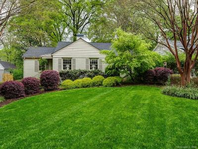 Charlotte Single Family Home Under Contract-Show: 1139 Yale Place