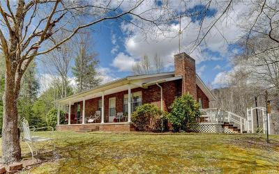Hot Springs Single Family Home For Sale: 5557 Nc 209 Highway