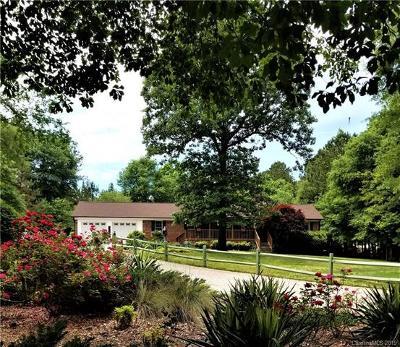 Catawba Single Family Home For Sale: 542 Ole Simpson Place