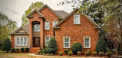 Mooresville Single Family Home Under Contract-Show: 138 Canterbury Place Road