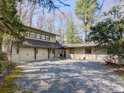 Brevard Single Family Home Under Contract-Show: 458 Robin Hood Road