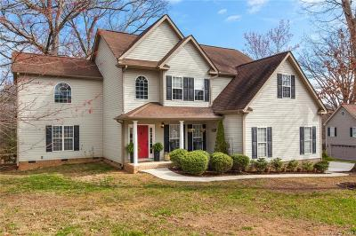 Candler Single Family Home For Sale: 101 Charles Teague Drive
