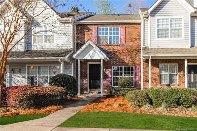 Charlotte Condo/Townhouse For Sale: 11159 Whitlock Crossing Court