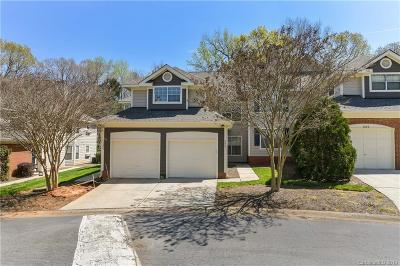 Charlotte Condo/Townhouse For Sale: 5847 Amity Springs Drive