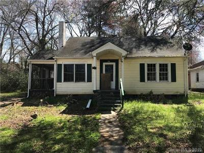Shelby NC Single Family Home For Sale: $33,500