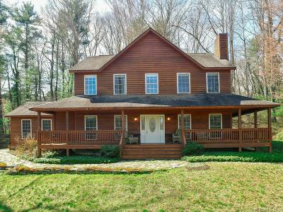 Weaverville Single Family Home Under Contract-Show: 206 Stoney Knob Road