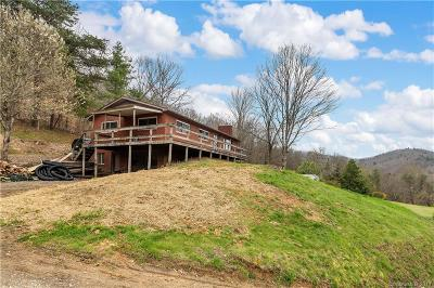 Weaverville Single Family Home Under Contract-Show: 17 Blevins Road