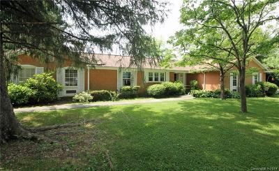 Brevard Single Family Home For Sale: 52 Broadview Circle