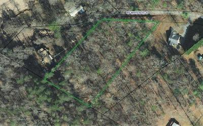 Catawba County Residential Lots & Land For Sale: 3291 R P Whitener Lane