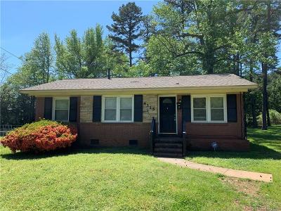 Charlotte Single Family Home Under Contract-Show: 4315 Toluca Place