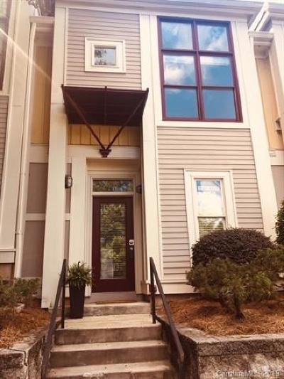 Charlotte Condo/Townhouse For Sale: 1083 Park West Drive
