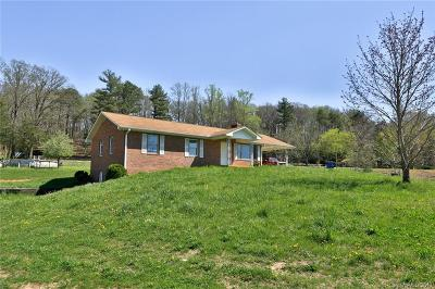 Henderson County Single Family Home For Sale: 2025 Gilliam Mountain Road