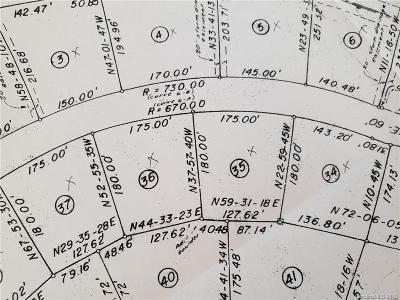 Gaston County Residential Lots & Land For Sale: LOT 35 SPANISH OAK LN Spanish Oak Lane #35